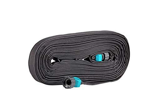 Rocky Mountain Goods Soaker Hose Flat - Heavy Duty Double Layer Design - Saves 70% Water - Consistent Drip Throughout Hose - Leakproof Guarantee - Garden/Vegetable Safe (1, 50 FT)