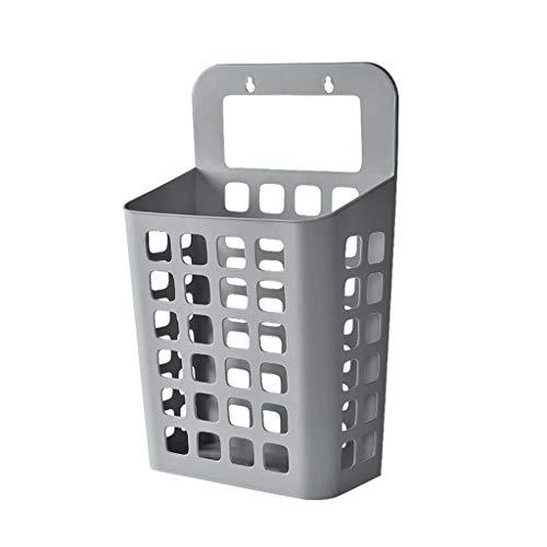 Storage Basket Badkamer aan de muur gemonteerde hamer Plastic wasmand