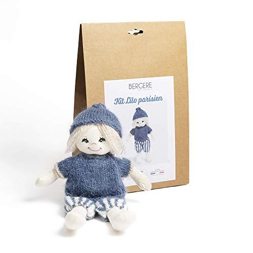 BERGÈRE DE FRANCE - Kit poupée à tricoter Lilo