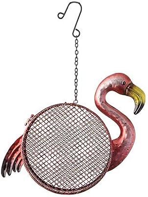 Darice Flamingo Hanging Bird Feeder, 12 x 13 inches