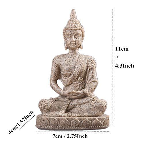 Estatuillas,Esculturas,Figuras,Estatuas,Estatua De Buda De Mármol De Piedra Arenisca De La Naturaleza De Buda En Tailandia La Escultura,Fengshui Hindú De Figurillas En Miniatura De Meditación,Home