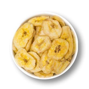 1001 Frucht leckere Bananenchips ohne Zucker 1000 g getrocknete Bananen mit Honig veredelt I geschmackvolle Bananen Chips Trockenfrüchte für Müsli oder als Snack I trockene Bananen als Trockenobst