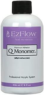 EZ Flow Q Monomer False Nails, 8 Fluid Ounce