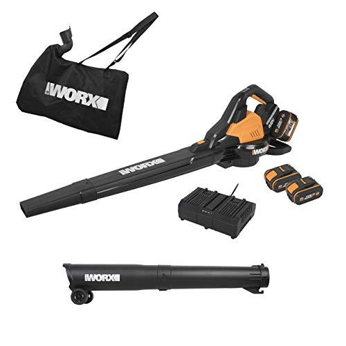 WORX WG583E 36V (40V MAX) Dual Battery Brushless Leaf Blower/Vacuum