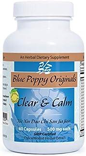 Blue Poppy Originals - Clear & Calm - 60 Capsules/500mg