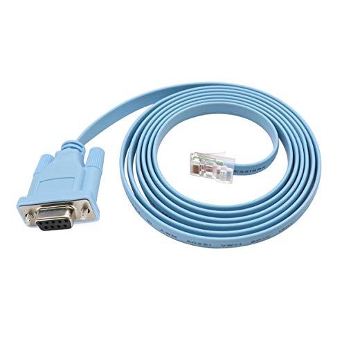 QiCheng&LYS Cisco Cable de Consola Puerto DB2 Hembra DB9