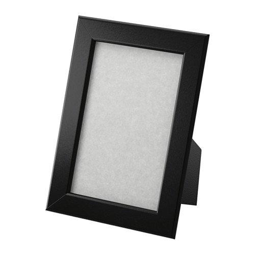 Ikea Fiskbo, marco de fotos de 10cm x 15cm, de color negro