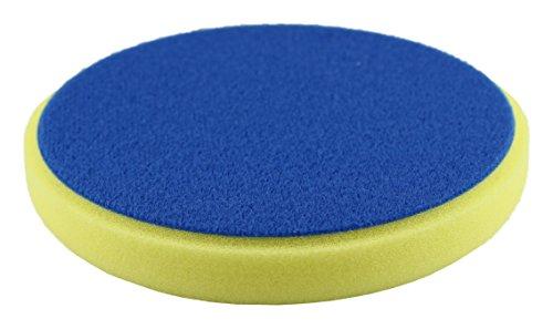 Clean Extreme éponge Medium-jaune/135/20 mm – retikuliert pour la voiture polir