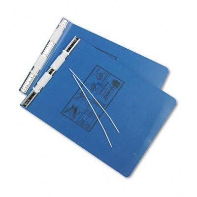 UNIVERSAL Pressboard Hanging Data Binder, 9-1/2 x 11 Unburst Sheets, Blue (Case of 20)