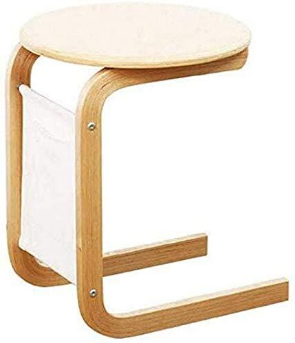 LJYY Tavolino da caffè Piccolo in Legno massello Divano Laterale Armadio Piccolo Appartamento Semplice Nordico Multifunzionale Semplice tavolino Piccolo