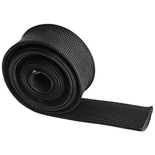 Heat Wrap Shield Sleeve For Wire Hose Auto Fiberglass 10FT-25MM(1