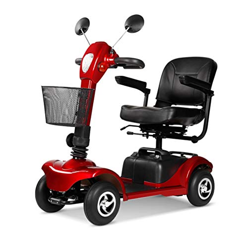 HOPELJ Scooter per Anziani Ed Disabili,Sedia A Rotelle Elettrica Pieghevole...