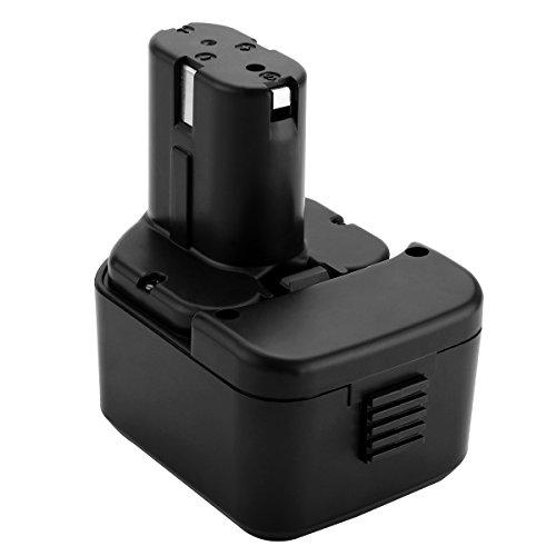 Shentec 12V 3500mAh Ni-MH batería para Hitachi EB1212S EB1214L EB1214S EB1220BL EB1220HL EB1220HS EB1220RS EB1222HL EB1226HL EB1230HL EB1230R EB1230X EB1233X