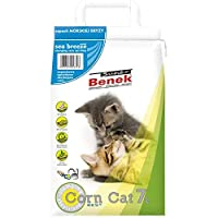 Efficient odour neutralisation: unpleasant odours are fully absorbed by the litter Sea breeze scent: ensures a pleasant indoor atmosphere Made from 100% natural plant-based material: compostable and biodegradable Natural clumping litter for cats The ...