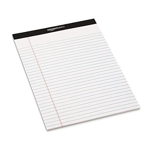 『Amazonベーシック メモ帳 ワイド罫リーガルパッド 30×22cm ホワイト 50枚×12冊』の3枚目の画像