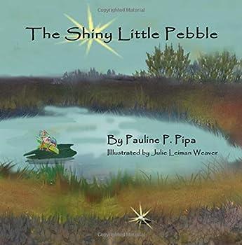 Paperback The Shiny Little Pebble Book