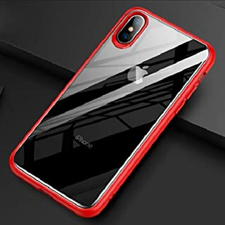 TOTU Protective TPU and Hard PC Case For iPhone XR 6.1-Red