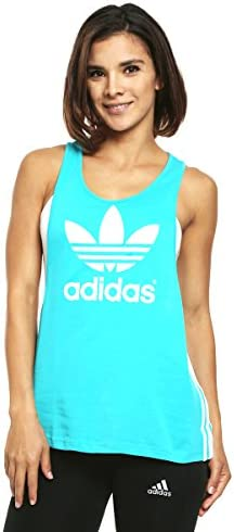 Adidas Camiseta Tirantes Color Turquesa para Mujer