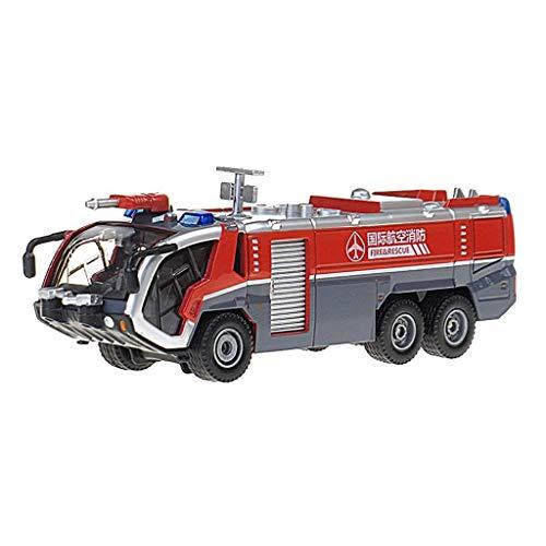 Modelo de coche Modelo de auto modelo de aleación Modelo de aleación 1:50 Pistola de agua de alta presión Modelo de camión de bomberos Modelo para niños Coche de niños Toy Precious Colección Mejor dec