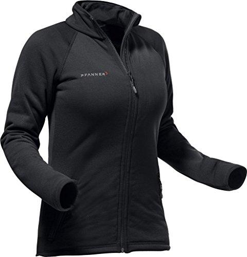 Pfanner warme Polartec® Fleecejacke für Damen 106657, Größe:L, Farbe:schwarz