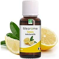 Aceite Esencial De Limón Puro 30 ml, 100% Natural y Bio   Para Cuidado del Cabello, Piel, Tonico Facial, Masajes, Aromaterapia, Combate Nauseas, Anticaspa   Ideal para Humidificador Ultrasónico