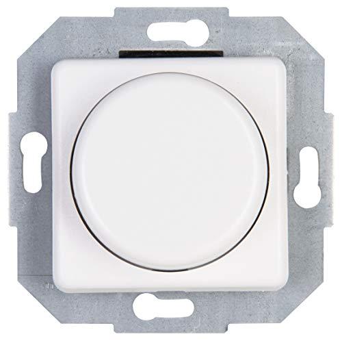 Kopp 847513080 Druck-Wechsel-Dimmer, arktis-weiß, LED