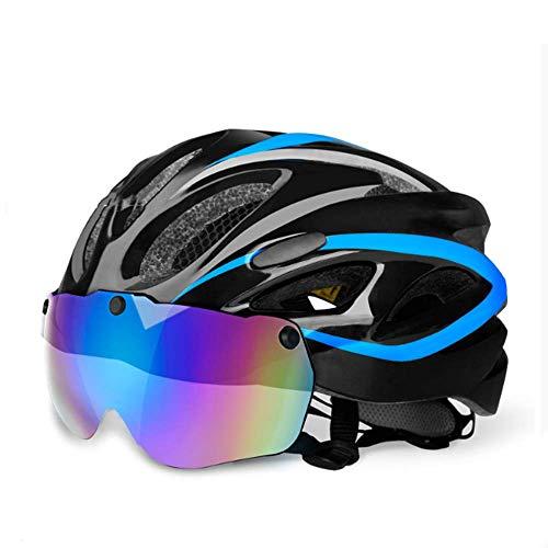 Z_L Skateboard Helmen Fiets Helm Eps Insect Net Fietshelm MTB Bike Integreerd Gegoten Helm met Goggles