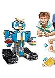 LLHAI Stem Juguetes Building Blocks Los Robots de Control Remoto, Building Blocks Learning Juguetes de la Ciencia, robótica Kit de construcción para los niños de Edad 8+,Azul