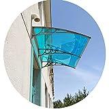 PTY Vordach für Haustür Türfenster Markise Baldachin Abdeckung UV Regen Schnee Sonnenlicht Schutz...