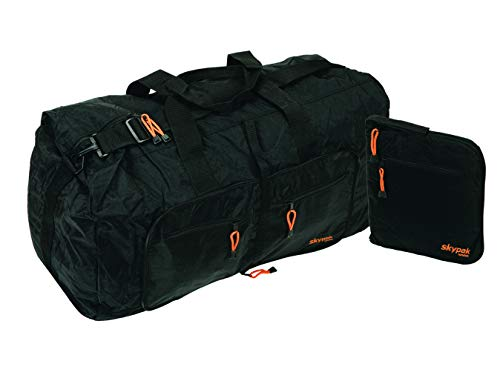 Skypak 90L Folding Travel Bag - Black