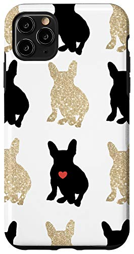 iPhone 11 Pro Max Frenchie Love Silhouette Case