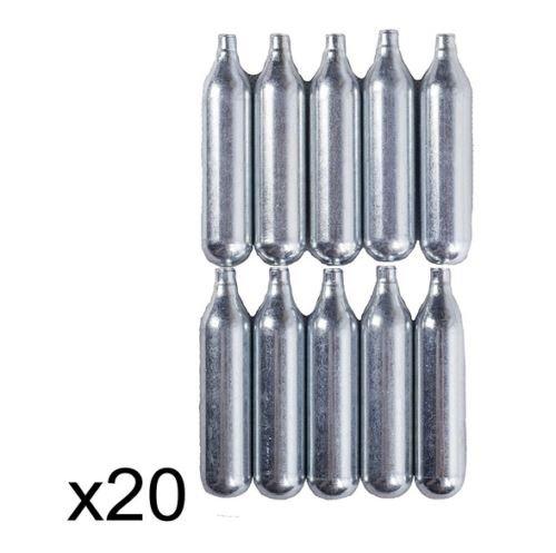 Militar-TLD Lote de bombonas de CO2 para airsoft (12 g, 20 unidades) Envio 24 horas
