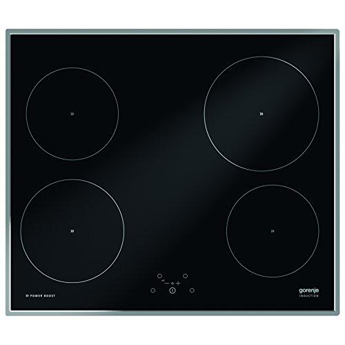 Gorenje IT614X kookplaat (inductie, glas en keramiek, aanraking, 220-240 V, 6800 W, zwart