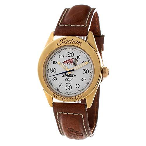 Reloj INDIAN ID-CHIEF-B04 Blanco Unisex