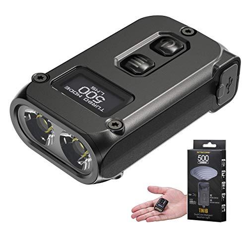 Nitecore TINI 2 (TINI2 v.2021) Linterna Llavero LED Recargable USB C Ultra...