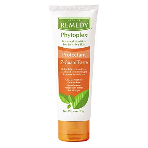 Medline - MSC092544H Remedy Phytoplex Z-Guard Skin Protectant Paste with Zinc Oxide, Diaper Rash Cream, 4 Ounce