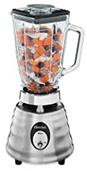 2-speed toggle with 600 watts of ice crushing power 6-cup dishwasher-safe glass jar is Thermal Shock tested to withstand extreme temperature changes Stainless steel Ice Crusher blade for perfectly crushed ice every time Oster 10 Year DURALAST All-Met...