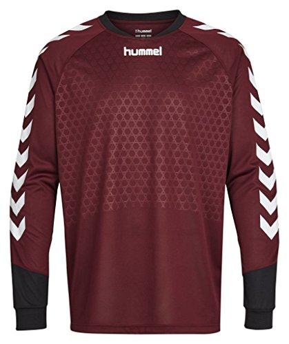 Hummel Sport Hummel Essentials Goalkeeper Jersey, Maroon/Black, Youth Medium