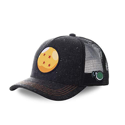 Capslab Gorra Trucker Bola de Dragón 4 Estrellas