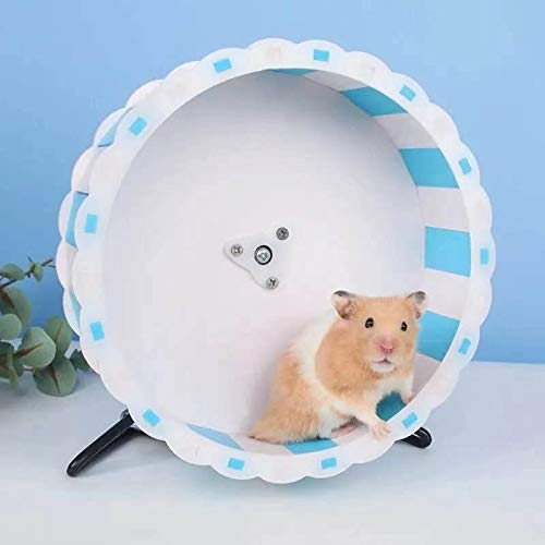 JUILE YUAN Quiet Hamster Exercise Wheel Silent Spinner, Hamster Exercise Wheel 7.5