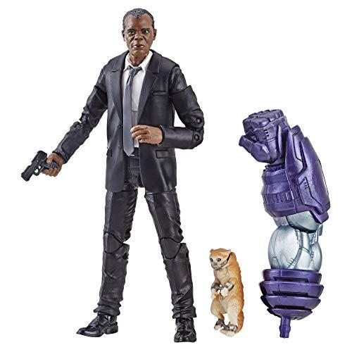Marvel Captain Marvel 6-inch Legends Nick Fury Figure for...