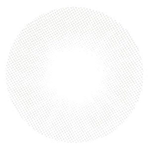 Matlens – EOS Farbige Kontaktlinsen ohne Stärke white gray weiss grau SOLE 1T 2 Linsen 1 Kontaktlinsenbehälter 1 Pflegemittel 50ml