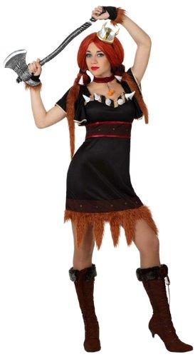 Atosa - 15414 - Costume - Déguisement De Viking Femme - Adulte - Taille 3