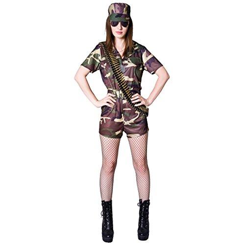 SEA HARE Disfraz de Soldado para Mujer