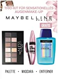 Maybelline New York Lidschattenpalette Lash Sensational Kit mit gratis Augen-Make-Up-Entferner, 30 g