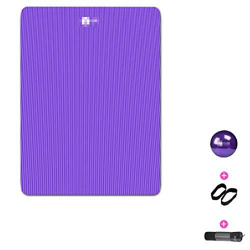 Antislip verdikte dubbele yogamat, ouder-kind yoga, pilates, kinderdans, sport fitness mat (200cm * 130cm * 15mm)