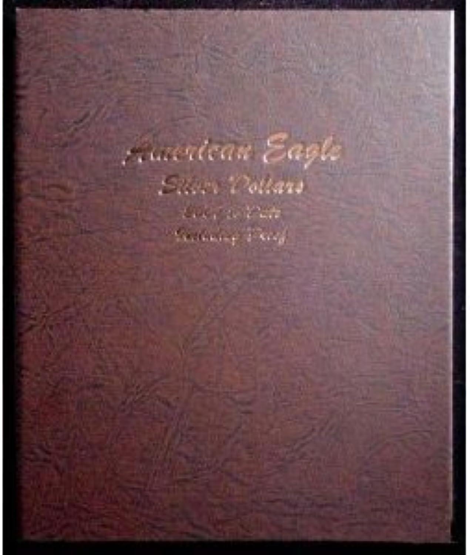 Dansco Silver Eagles with Proof 2007Date Album  8182 by Dansco