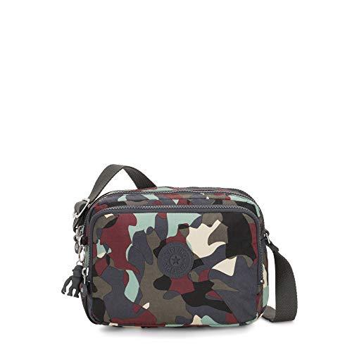 Kipling Women's Silen Crossbody Bag, CAMO LEATHER, One Size