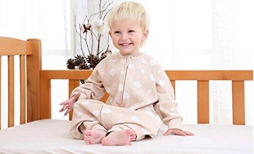 Jingdian fzw Sac de Couchage pour bébés Printemps et Automne Coton en Coton Jambes séparés Sac de Couchage Coton été Anti-Kick Quilt (Taille : S)