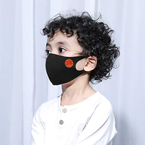 AIORNIY 5-teilig Baumwolle Niedlich Cartoon Kinder Gesichts Gesichtsschutz